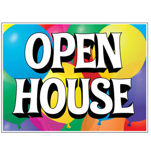 Open House – Wednesday April 19th
